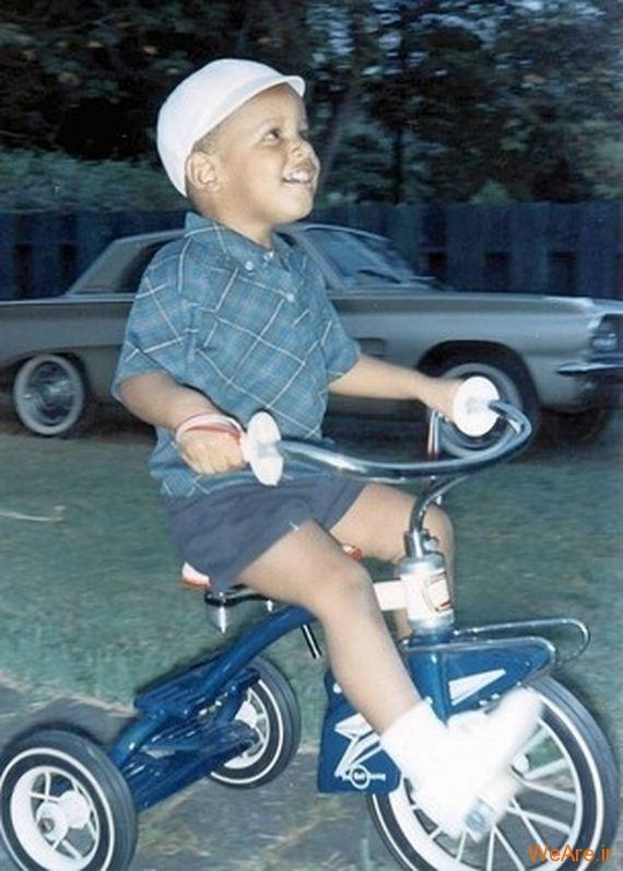 عکس بچگی اوباما (3)