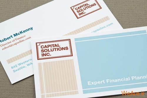 کارت های ویزیت خلاقانه و زیبای تجاری (4)