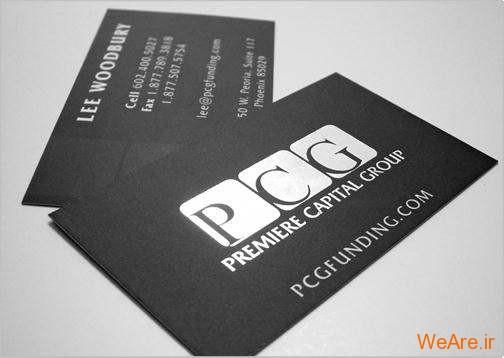 کارت های ویزیت خلاقانه و زیبای تجاری (21)