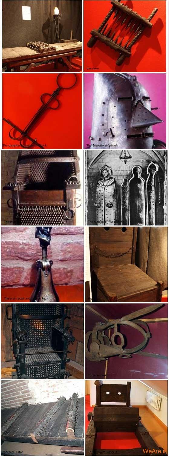 وحشیانه ترین ابزار شکنجه قرون وسطی 2