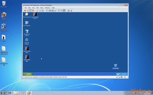 نصب ویندوز xp در وینوز 7 با نرم افزار virtualbox