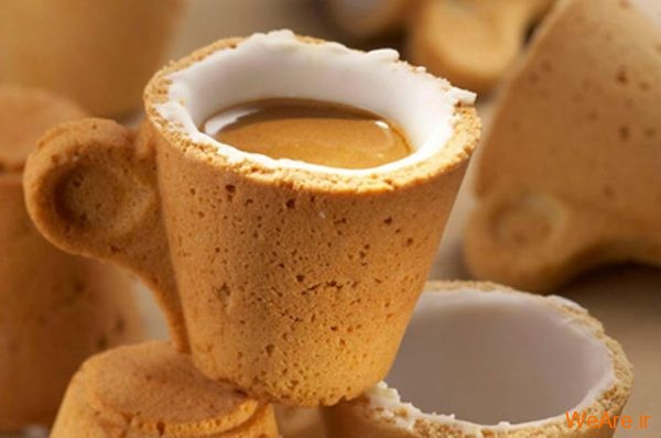 زین پس قهوه را با لیوانش بخورید! / عکس