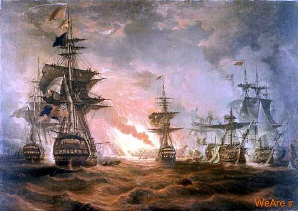 جنگ نیل توسط توماس لونی