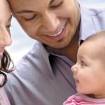کودک و پدر و مادرش