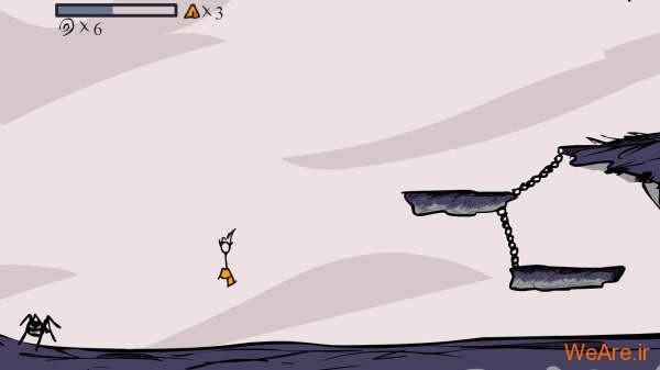 بازی فلش فوق العاده زیبای Fancy Pants Adventure
