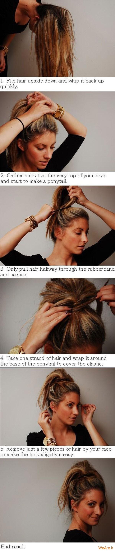 روش های بستن مو (4)