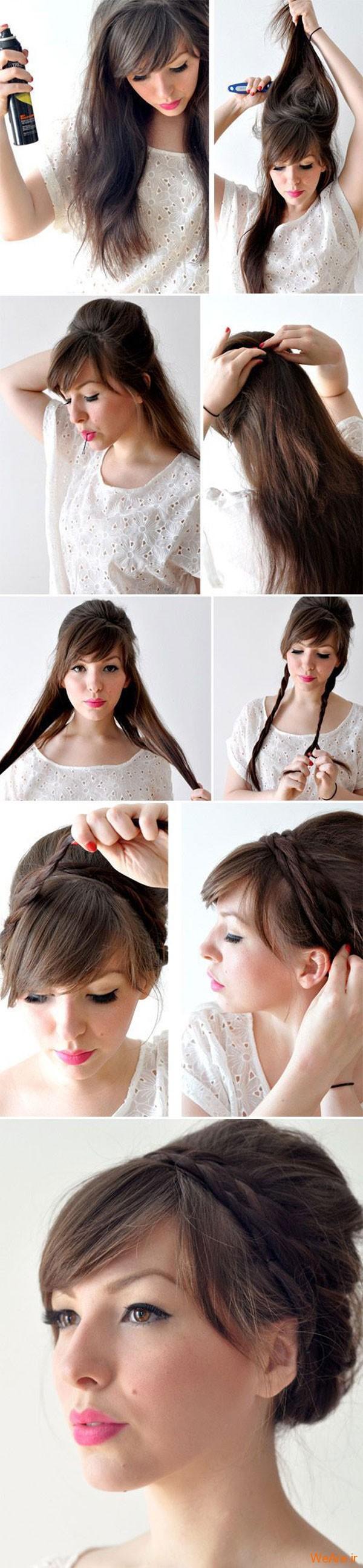 روش های بستن مو (8)