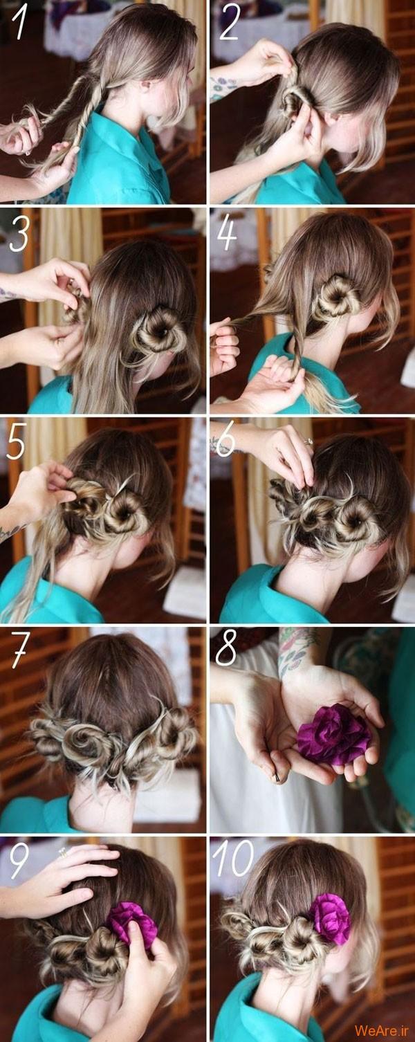 روش های بستن مو (13)