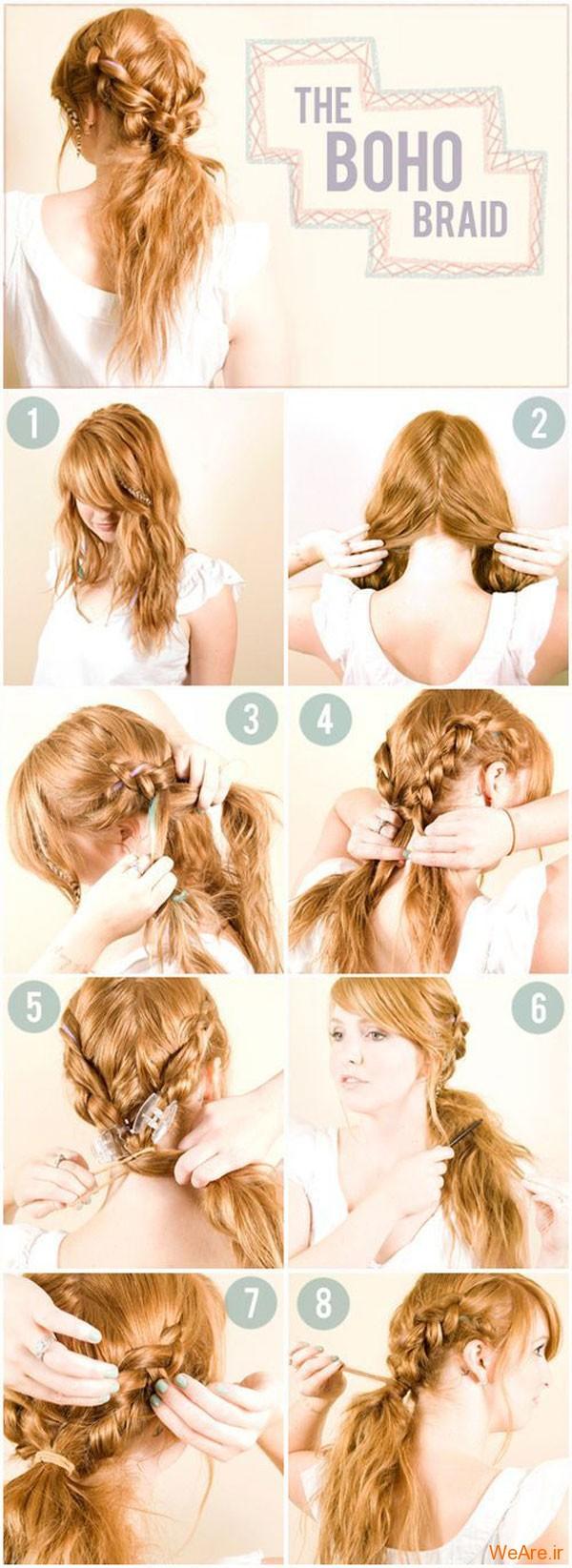 روش های بستن مو (14)