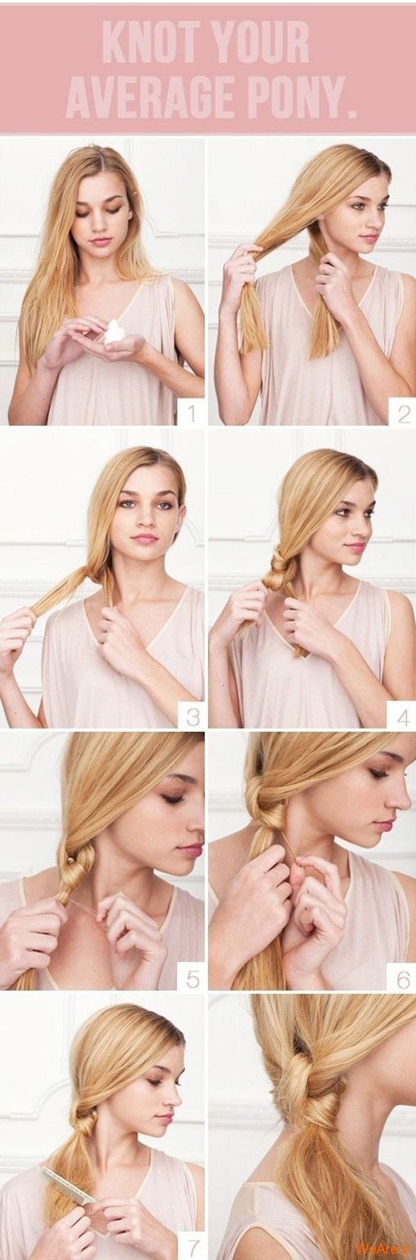 روش های بستن مو (16)