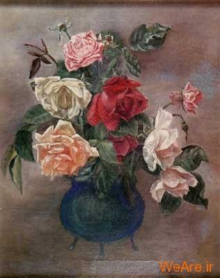 رزها -نقاشی هیتلر