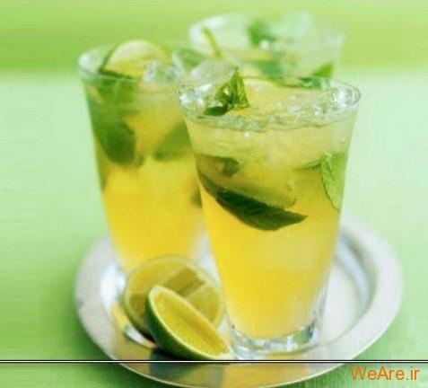 سلامتی با نوشیدنی های سبز