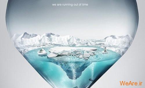 تبلیغات هشدار دهنده و تاثیر گذار با موضوع گرمایش زمین (حتما ببینید)