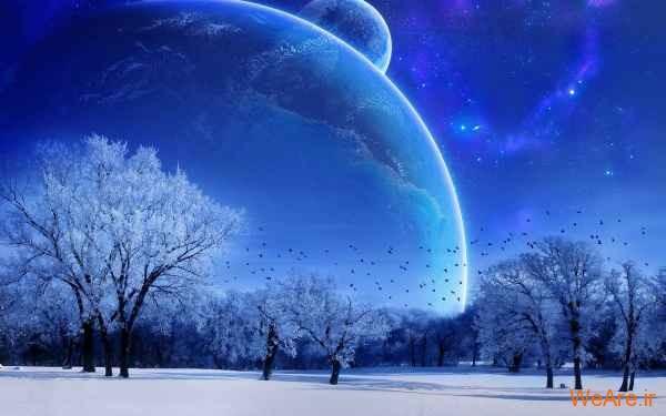 عکس زمستان و برف (4)