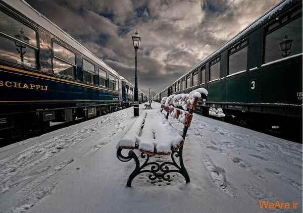 زمستان در حصار دوربین