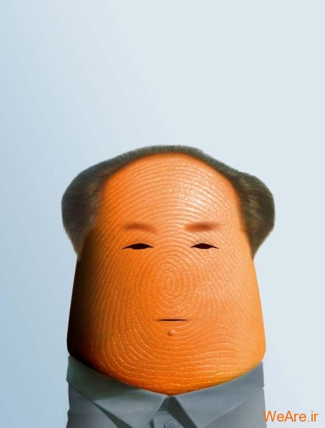 عکس هنری شخصیت ها با انگشت (12)