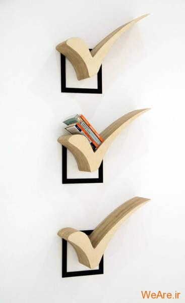 قفسه کتاب خلاقانه, قفیه کتاب زیبا (12)
