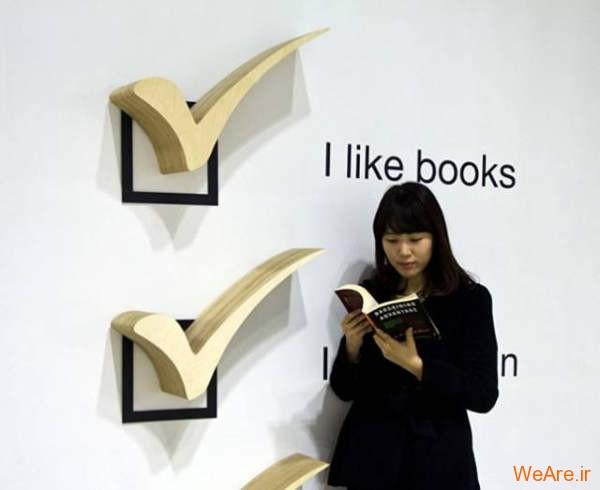 قفسه کتاب خلاقانه, قفیه کتاب زیبا (13)