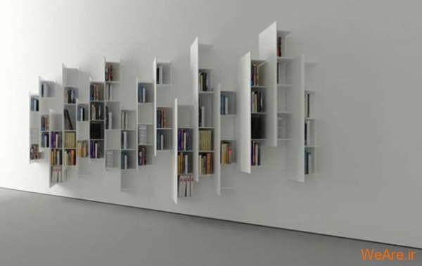 قفسه کتاب خلاقانه, قفیه کتاب زیبا (17)