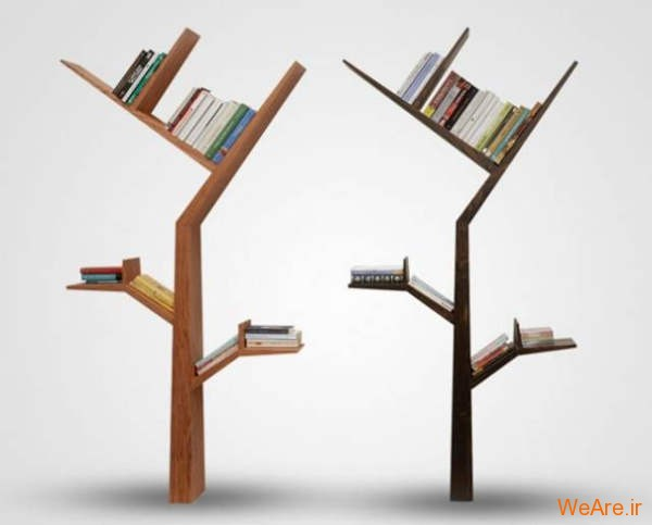 قفسه کتاب خلاقانه, قفیه کتاب زیبا (2)