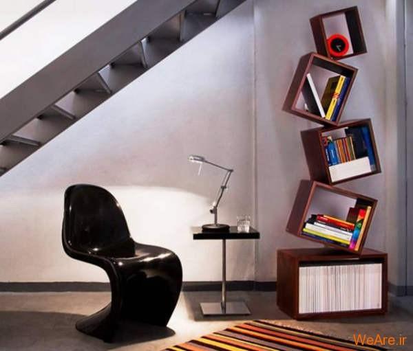 قفسه کتاب خلاقانه, قفیه کتاب زیبا (21)