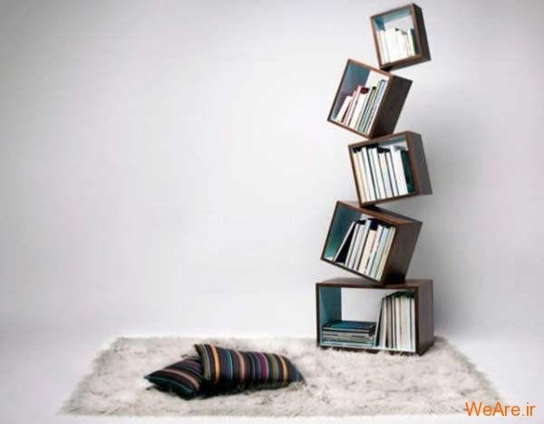 قفسه کتاب خلاقانه, قفیه کتاب زیبا (22)