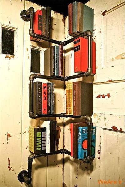 قفسه کتاب خلاقانه, قفیه کتاب زیبا (23)