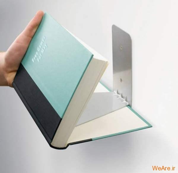 ایده هایی برای داشتن کتابخانه ای متفاوت و خلاق