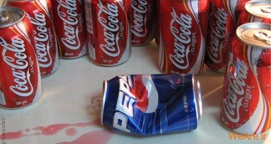 تصاویر خلاقانه، نبرد کوکاکولا و پپسی