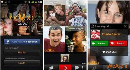 دانلود آخرین نسخه از بهترین و کاملترین نرم افزار تماس صوتی و تصویری رایگان از طریق اینترنت ۱.۳.۶ ooVoo Video Call