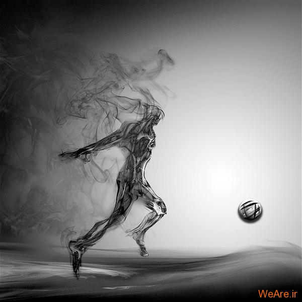 خلق آثار هنری با دود! (4)