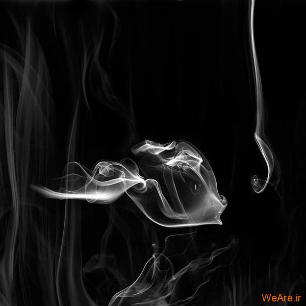 خلق آثار هنری با دود! (12)