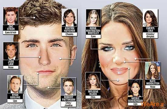 همه زیبایی ها در یک چهره؟!