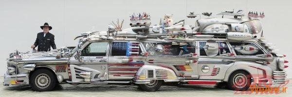 اتومبیل عجیب و غریب Finnjet، یک اثر هنری با ارزش یک میلیون دلار