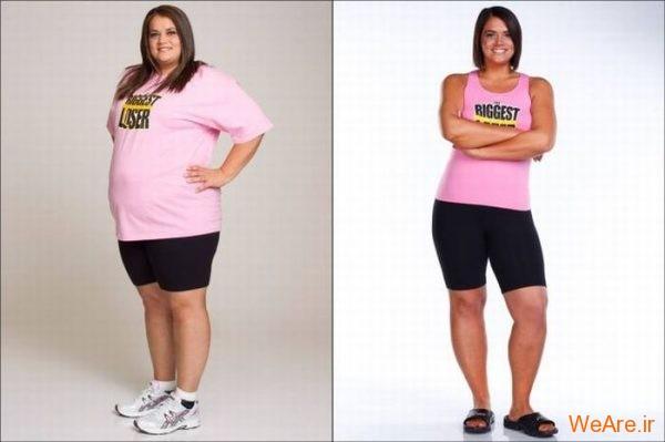 قبل از چاقی, بعد از چاقی,قبل از لاغری, بعد از لاغر شدن (1)