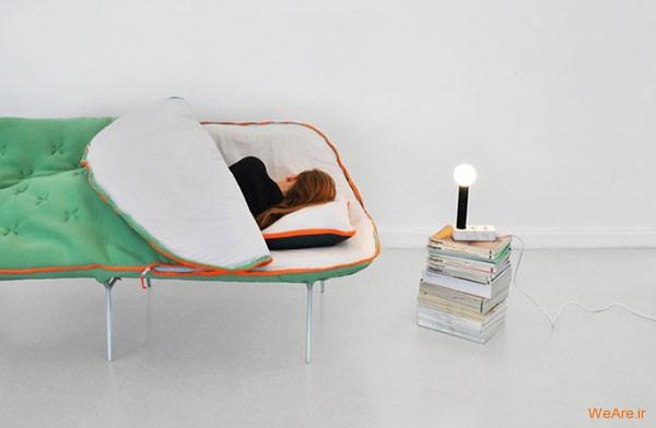 مبلی زیبا، تختی راحت، ایده ای خلاقانه