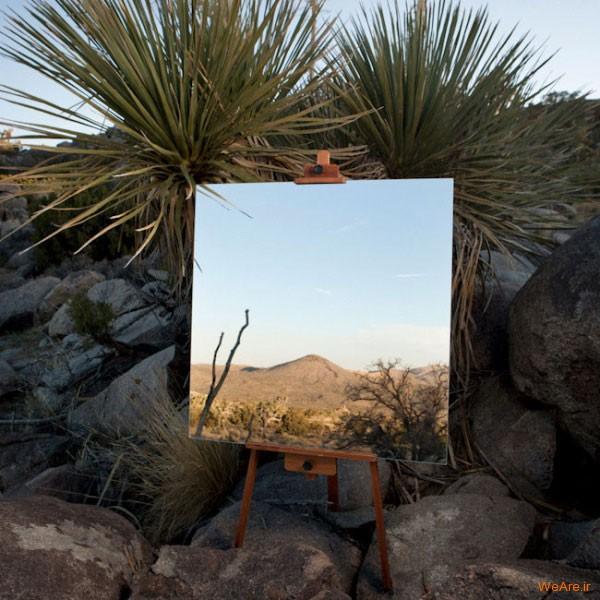 تابلوهای هنری با آیینه (2)