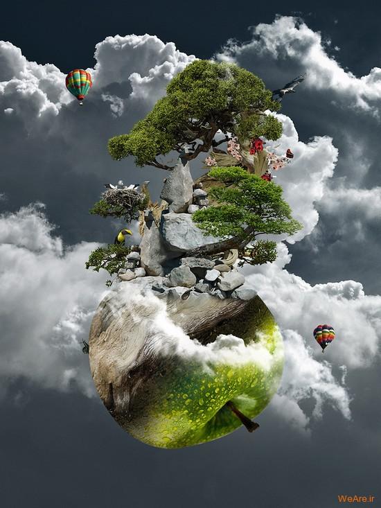 تصاویر هنری با الهام از طبیعت (5)
