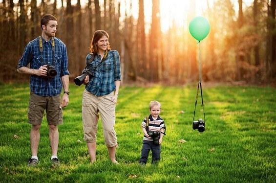 قاب عکسی از جنس زندگی، زندگی از جنس خانواده