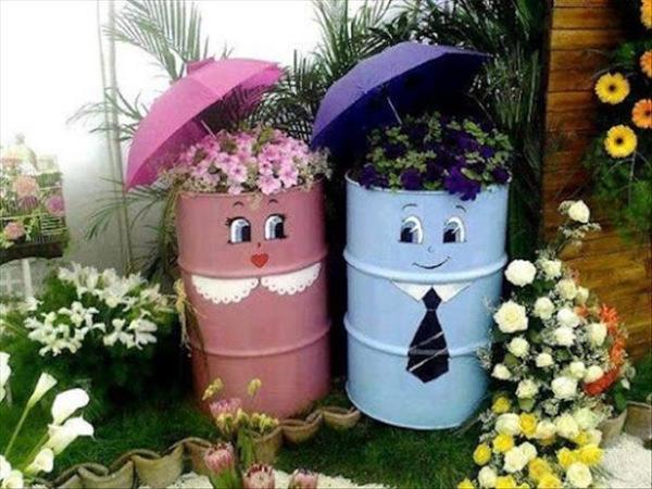 ایده های خلاقانه باغداری