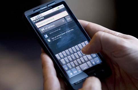 چک کردن ایمیل با گوشی هوشمند
