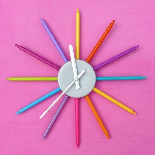 ساخت ساعت های زیبا و خلاقانه | www.WeAre.ir مجله علمی، تاریخی ...ساعت دیواری