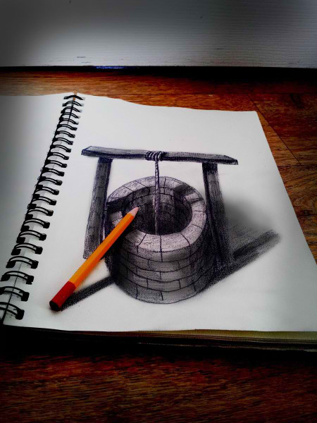 Optical-Illusion-3D-Drawings-on-Paper-by-Ramon-Bruin-aka-JJKAirbrush-30-weare.ir