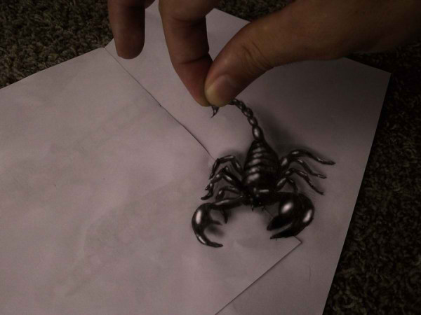 Optical-Illusion-3D-Drawings-on-Paper-by-Ramon-Bruin-aka-JJKAirbrush-35-weare.ir