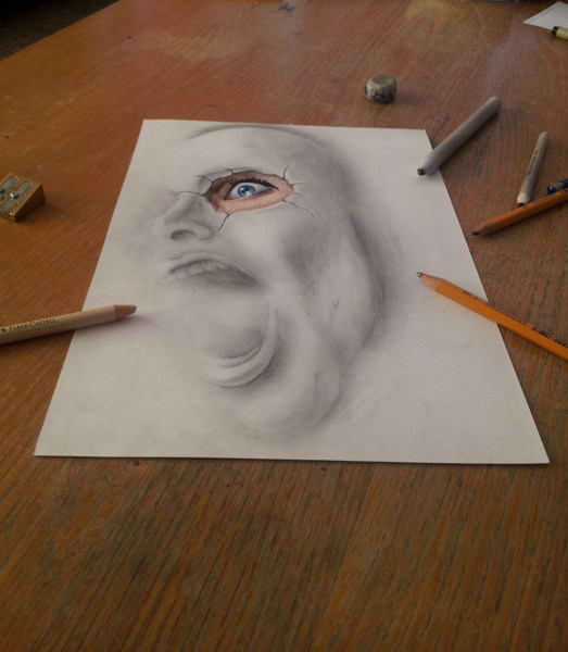 Optical-Illusion-3D-Drawings-on-Paper-by-Ramon-Bruin-aka-JJKAirbrush-40-weare.ir