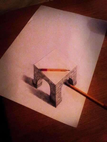 Optical-Illusion-3D-Drawings-on-Paper-by-Ramon-Bruin-aka-JJKAirbrush-46-weare.ir