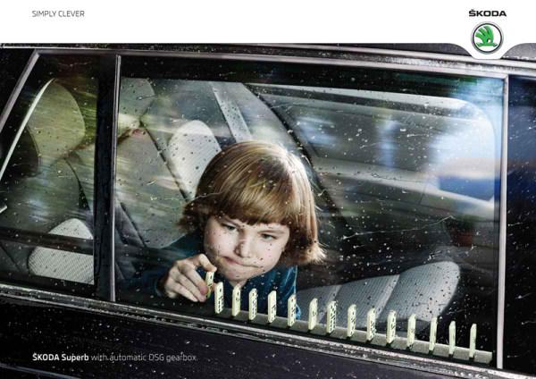 SKODA متفاوت، شکوهمند با جعبه دنده اتوماتیک DSG، تبلیغ خودرو Skoda