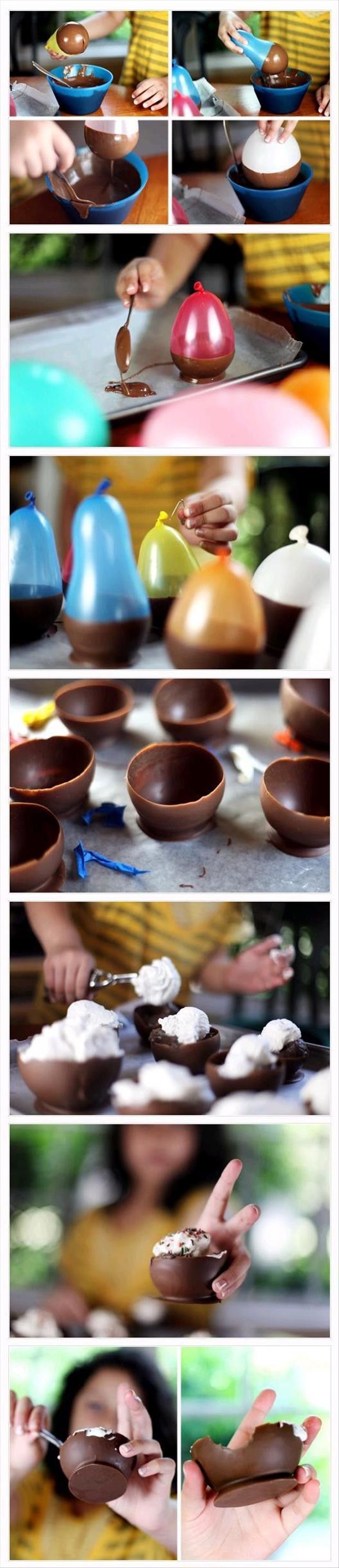 شیرینی و بادکنک و شکلات