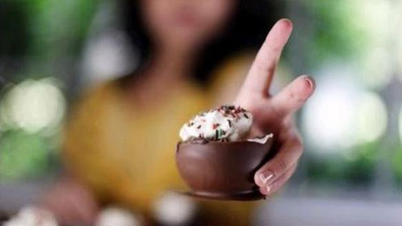 ایده ای خلاقانه برای تهیه شیرینی شکلاتی