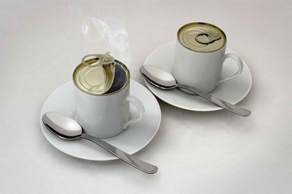 فنجان چای عجیب